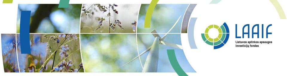 Lietuvos aplinkos apsaugos investicijų fondo logotipas