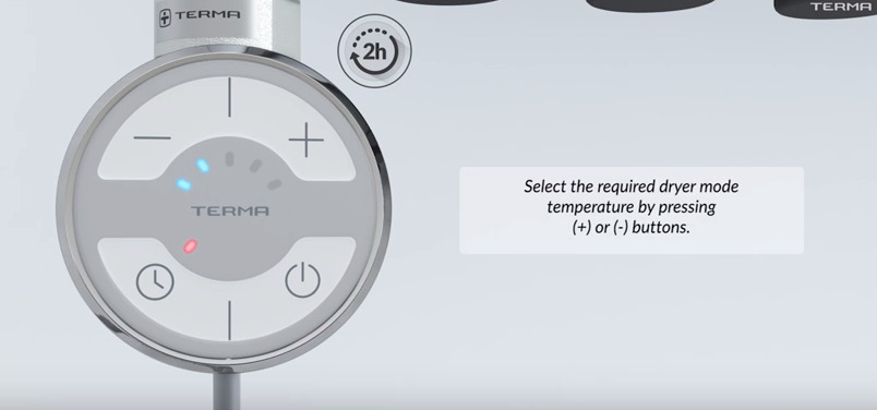 Terma tenų video instrukcija