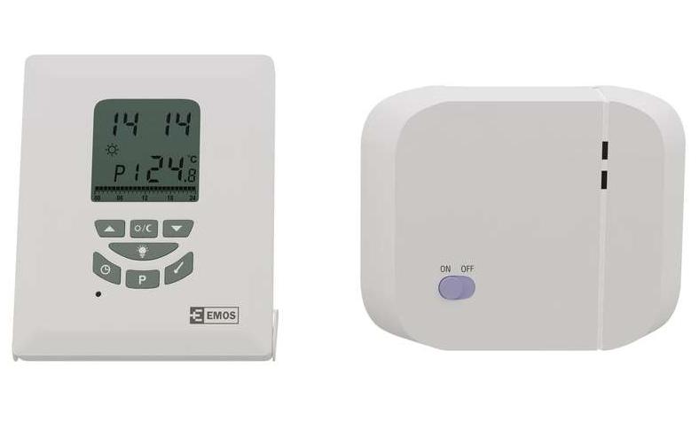 Programuojamas belaidis patalpos termostatas P5611