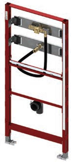 Potinkinis universalus TECEprofil pisuaro modulis, montavimo aukštis 1120 mm
