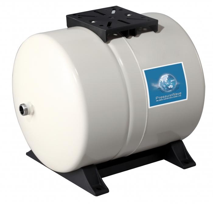Išsiplėtimo indai vandentiekiui GWS PressureWave horizontalūs