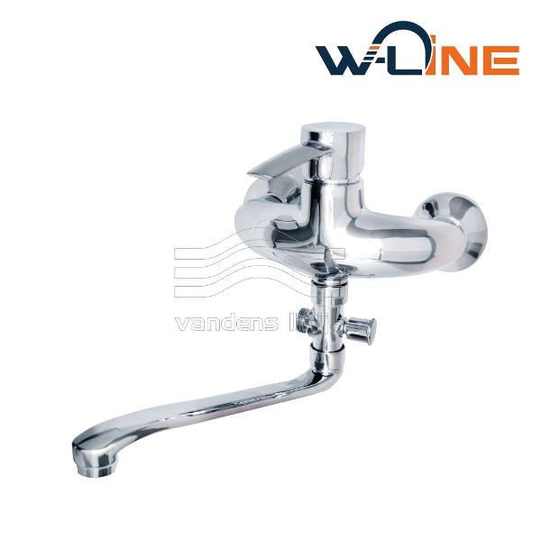 Vandens maišytuvas voniai W-line Spain 14461 Premium, 300 mm. ilgio snapu