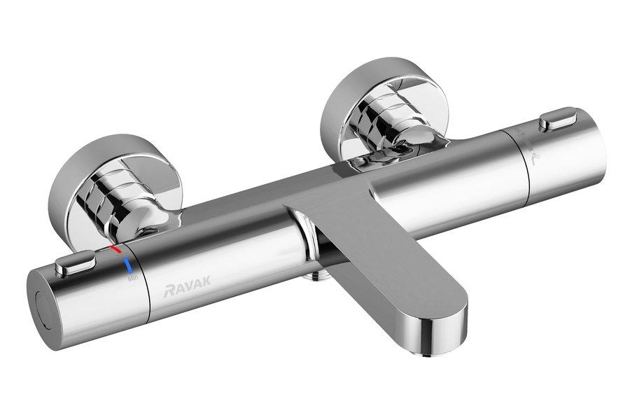 Sieninis termostatinis dušo maišytuvas Ravak Termo 300 TE 023.00/150