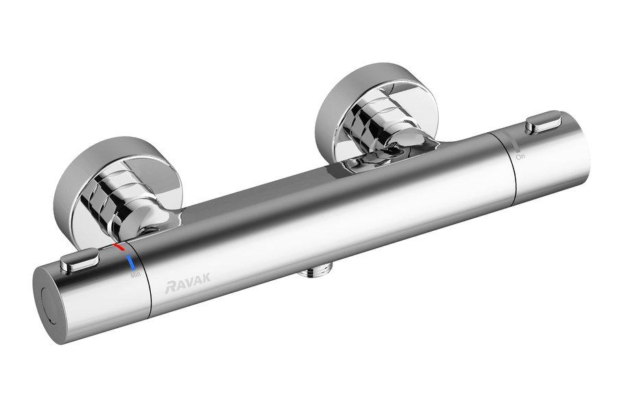 Sieninis termostatinis dušo maišytuvas Ravak Termo 300 TE 033.00/150 (be dušo komplekto)