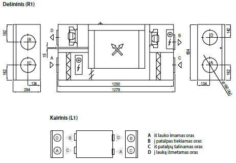 Domekt CF250F schema