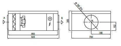 Domekt S1000FE schema