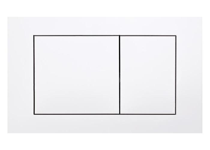 Balta plastikinė dviejų nuplovimų vandens nuleidimo plokštelė TECEnow 9240400