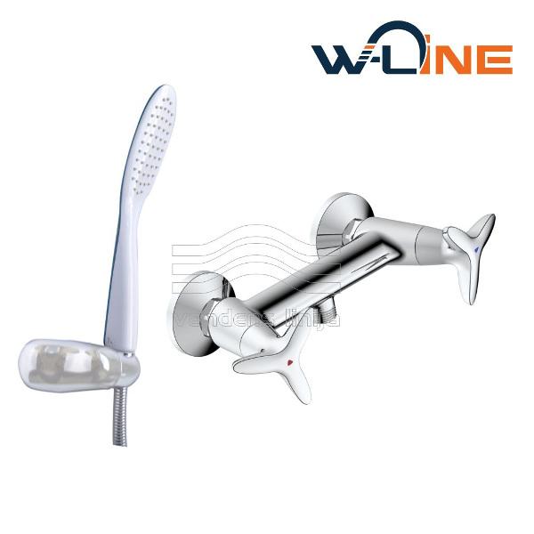 Vandens maišytuvas dušui W-line Malmo 14612 Premium