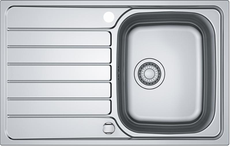 Nerūdijančio plieno virtuvės plautuvė Franke 79x50 cm