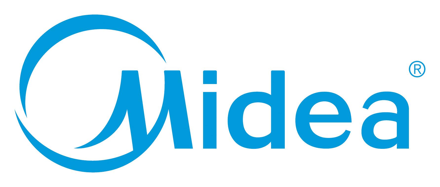 Midea logotipas
