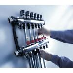 Nerūdijančio plieno reguliuojamas šildymo kolektorius Tece SLQ