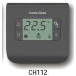 Neprogramuojamas skaitmeninis patalpos termostatas su ekranu 2-40°C Fantini Cosmi FC-CH112 (antracito spalvos)