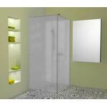 Atvira dušo sienelė AL-S1 matiniu stiklu