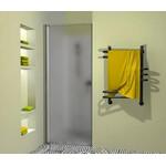 Dušo durys Griubner, 600 mm. pločio, matiniu stiklu