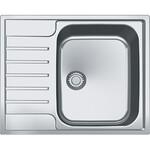 Nerūdijančio plieno virtuvės plautuvė Franke Argos AGX 211-62 G su ventiliu, 62.5 cm. x 51 cm.