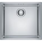 Nerūdijančio plieno virtuvės plautuvė Franke MRX 110-45, spintelės plotis 55 cm