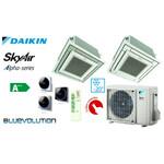 Split kasetinis oro kondicionierius su lauko ir vidaus blokais