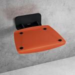 Black orange sėdynė