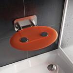 Oranžinės spalvos sėdynė- kėdutė Ravak